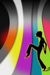 wallpaper, hintergrund, disko, party, techno, farbig