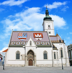 St. Marcos church (Zagreb, Croatia)