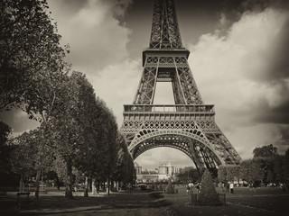 Fotomurales - View of Paris, France
