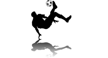 Neutral Fussbal FallrŸckzieher