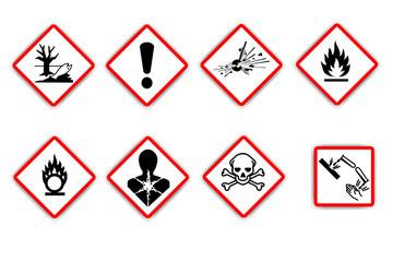 Nuevos pictogramas de peligrosidad 2011