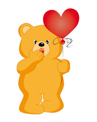 oso con globo