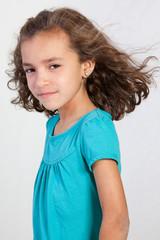Cute Hispanic Young Girl