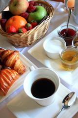 Plateau petit déjeuner complet