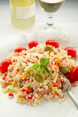 rice salad - insalata di riso
