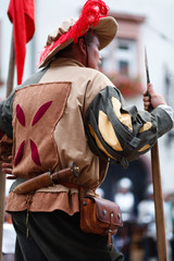 history event, knight holiday day of mascarade