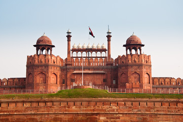 Keuken foto achterwand Delhi The Red Fort