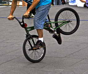 acrobatic demonstration