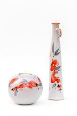 Vase und Kerze