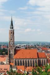 Höchster Backsteinturm der Welt - Martinskirche Landshut