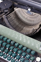 old typewriter