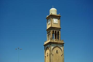 Horloge à l'entrée de la médina de Casablanca