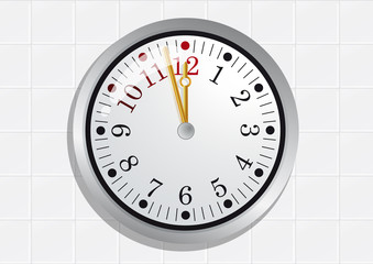 Horloge_Minuit_Carrelage