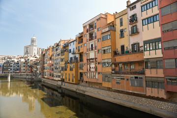 View of Girona. Catalonia. Spain.
