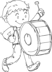 A Boy with a Drum