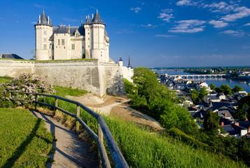 Wall Mural - Saumur, Pays-de-la-Loire, France