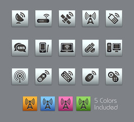 Wireless / It includes 5 colors in different layers