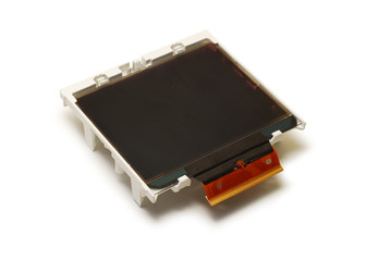 lcd display isolated