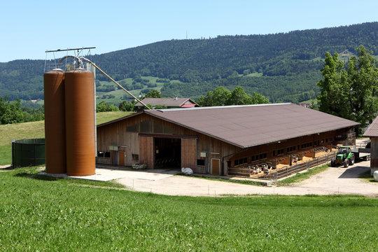 Ferme agricole en Franche-Comté