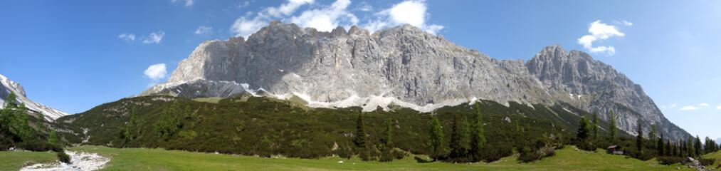 Mountain panorama in Austrai