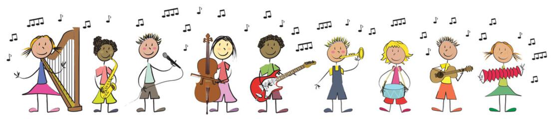 ribambelle enfant musique