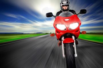 Deurstickers Motorsport Speed