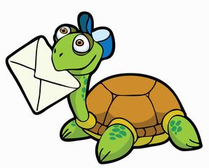 turtle postman;