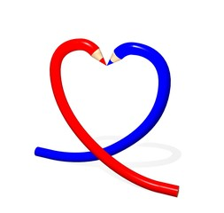 Pencil Heart01