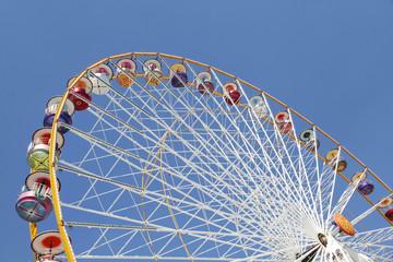 Wall Murals Amusement Park Ferris wheel in an amusement park