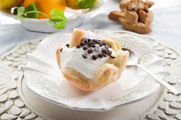 dessert ice cream - dessert con gelato