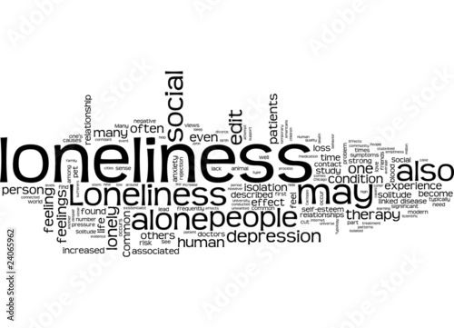 an analysis of three powerful feelings in solitude isolation and loneliness The feeling of being alone, and the reality of it, seem to correlate well together as one gets older, it is easy to lose sight of the adventurous and exciting parts of their personality but if you don't want to be at risk of loneliness, then you need to continue cultivating friendships and organic social experiences.