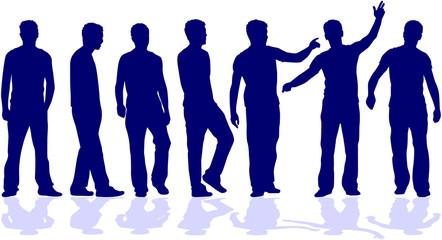 group of men