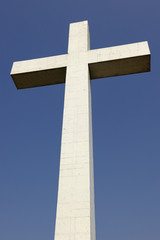 Cross of the Memorial ADEIF on Mont National, Obernai