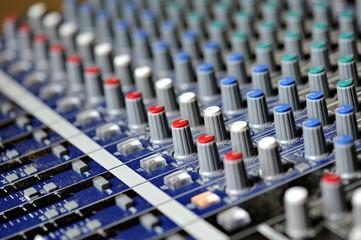 mixer musica per concerti