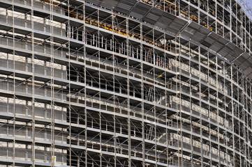 milano expo impalcatura montaggio cantiere costruzione