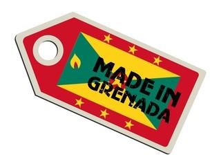 vector label Made in Grenada