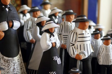 handcraft clay figurines balearic islands payes