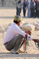 Beduino nel deserto