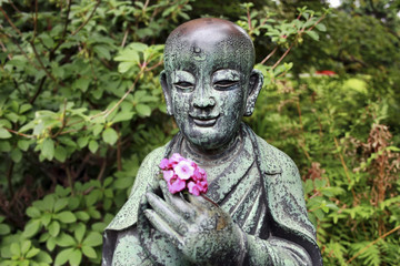 Face of Buddhist, Leverkusen, Germany