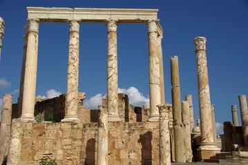 Colonnes romaines, Libye