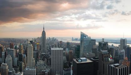 Fototapete - Manhattan SKYLINE