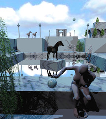 Cavalli e architettura