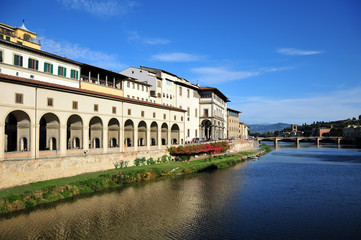 River Through Florence