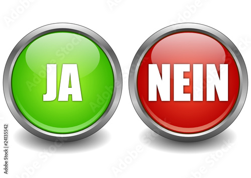 Ja Nein Button Stock Image And Royalty Free Vector Files On