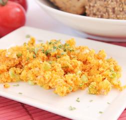 Couscous mit Frühlingszwiebeln