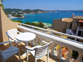Apartment Balcony in Mallorca, Spain