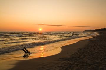 Wschód Słońca Karwia