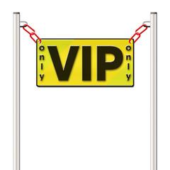 Absperrung VIP
