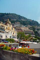 Positano panorama estate 2010 Italia