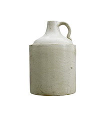 whiskey crock jug isolated